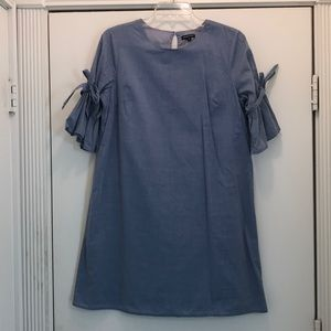 Blue cotton dress by Who What Wear size M